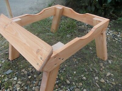 5 X langstroth bee hive stands with adjustable landing boards