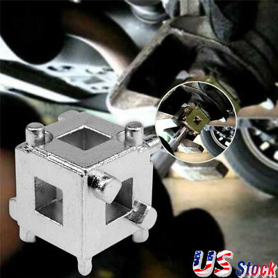 1x Car Vehicle Rear Disc Brake Piston Caliper Wind Back Cube Calliper Tool 3/8""