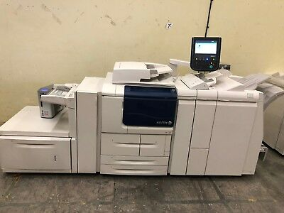 Xerox D95A Laser Printer With Sra3 Deck, Pro Booklet Finisher And Fiery