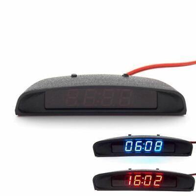12V Original Car Interior Trim Appearance 3 In 1 Clock Thermometer and Voltage M