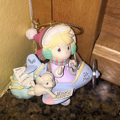 "Precious Moments ""Sending You Seasons Greetings Special Delivery"" Ornament"