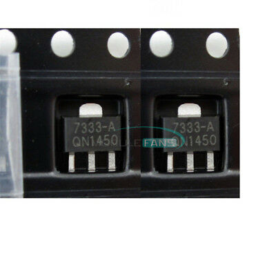 10PCS Low Power Consumption LDO Voltage Regulator HT7333-A HT7333  3.3V SOT-89