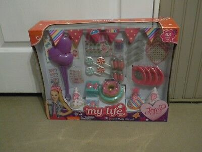 JoJo Siwa MY LIFE as JoJo Birthday Play Set 63PC NICKELODEON BRAND NEW