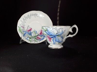 Queen Anne Orchids 4602 Cup & Saucer