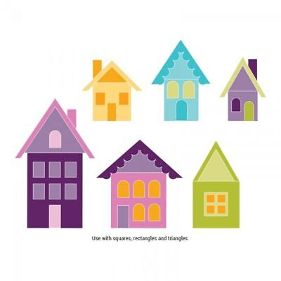 Sizzix BIGZ XL Stanze Village Buildings 659164