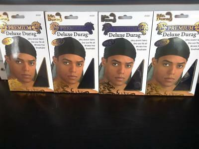 Set of 2// Burgundy /& Lavender Smooth /& Thick Shiny /& Silky Deluxe DuRag