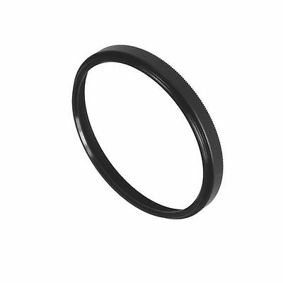 Fotodiox Metal Spacing Ring Filter Adapter, Anodized Black Aluminum 72-72mm