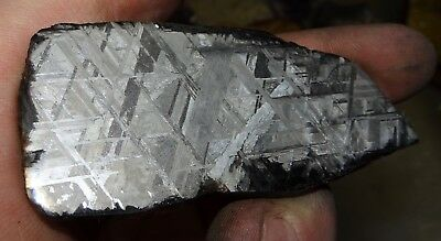 Amazing 90 Gm. Muonionalusta Etched Meteorite Slice