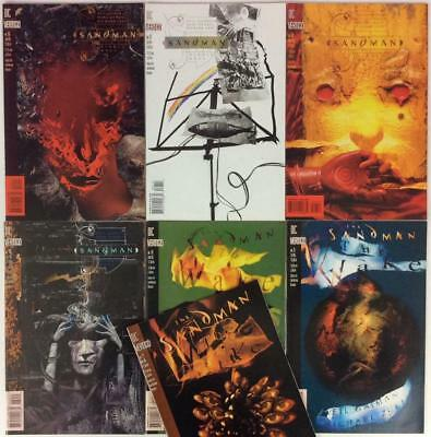 Sandman #66 to #72 (DC 1995) 7 x issues