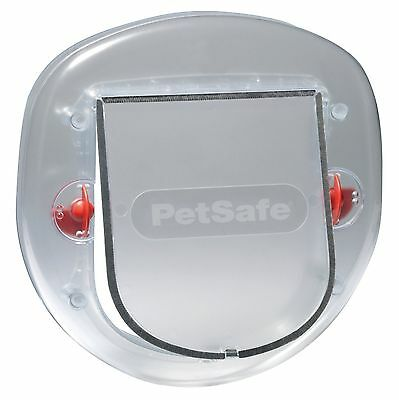 PetSafe Staywell Big Cat/Small Dog Pet Door (Frosted) - 4 Way Locking Flap 270EF