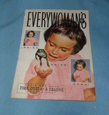 Vintage Every Woman's Magazine January 1955 Great Ads!!!