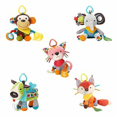 Skip Hop Baby / Child Bandana Buddies Activity Toy With Teether - From Birth