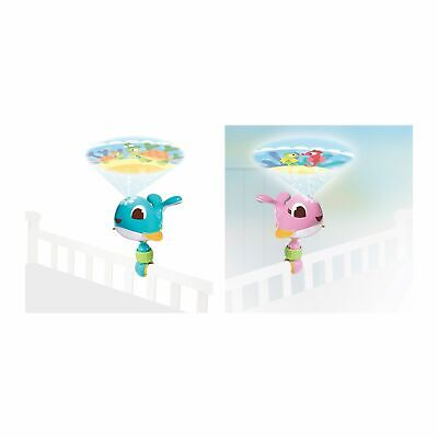 Tiny Love Take Along Baby Bedtime Projector / Nightlight With Music