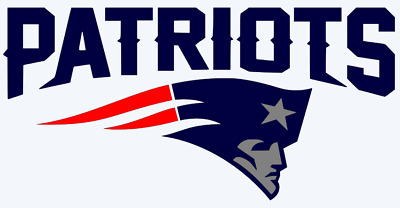 New England Patriots Logo 3-Color Vinyl Decal Sticker - You Pick Size