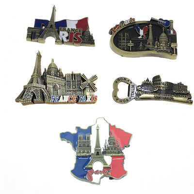 Tourist Souvenir Favorite Travel Resin 3D Fridge Magnet - Eiffel Tower, Paris