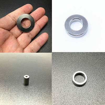 Super Strong Disc Cylinder Round Ring Magnets Rare Earth Neodymium Magnetic
