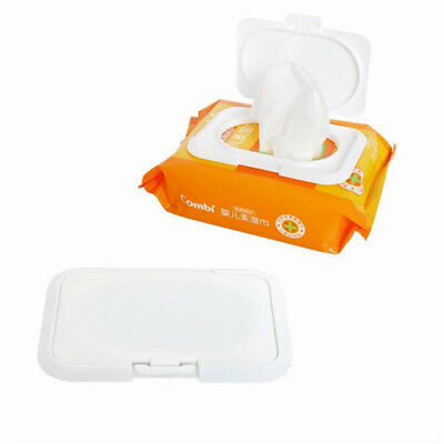 2PCS Reusable Baby Wet Paper Wipes Lid Tissue Box Wet Paper Lid Accessories