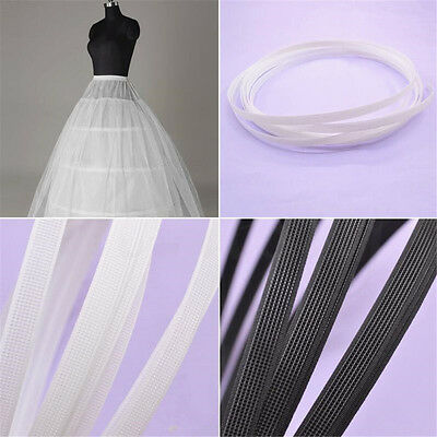 5 Yards Covered Plastic Boning For Wedding Swimwear Dress Support DIY Sewing