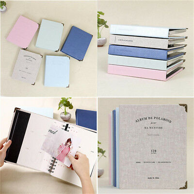 120 Slots Book Photo Album Picture Storage Memo For Fujifilm Polaroid Instax