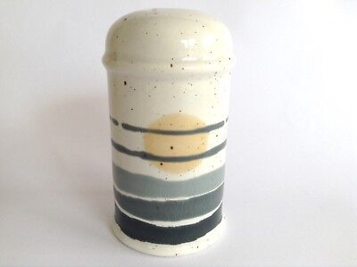 Retro MIDWINTER 1970s Stonehenge NIGHT Vintage Stoneware Pottery Pepper Shaker