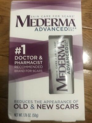Mederma Advanced Scar Gel - Net Wt. 1.76 Oz. (50g) - Expires 3/2019 and Later