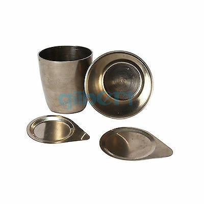 30ml 50ml Laboratory Nickel Crucible With Lid Cover Thermostability