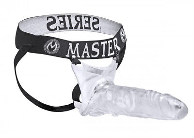 Master Series - Strap on - Creux gode ceinture - Transparent