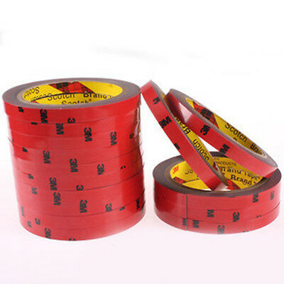 1 Roll Strong Permanent Double Sided Super Self-Adhesive Sticky Tape Adhesive 3m