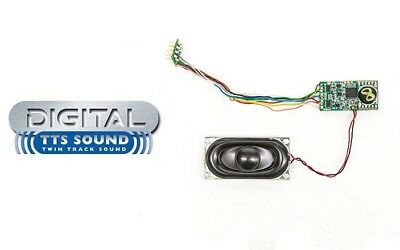 Hornby DCC TTS Digital Sound Decoders with Speakers - Choose From List