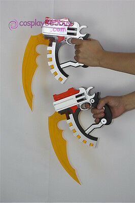 .Hack Xth Form Haseo blade twin blade cosplay prop PVC and acrylic made