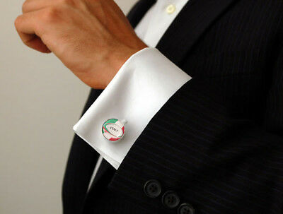6 Nations Italy Cufflinks - A Great Gift