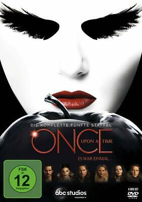 Once Upon A Time Es War Einmal Die Komplette Staffel 5 Dvd Deutsch