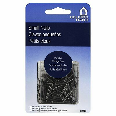 Fq Asst Small Nails,Size 2.5 OZ,Pack of 3,by Helping Hand