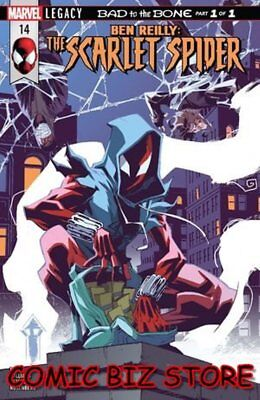 Ben Reilly Scarlet Spider #13 (2018) 1St Printing Bagged & Boarded Legacy Tie-In