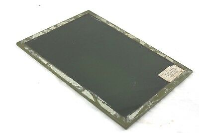 7x5 inch Johnson's of Hendon safelight glass 2/0A greeny yellow colour
