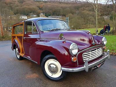 Morris Minor Traveller 1970, Fully restored 2 years ago..*New ash frame*, A1