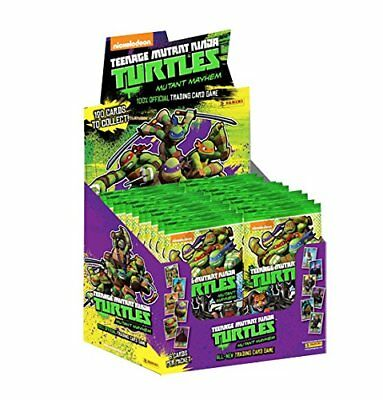 TMNT Mutant Mayhem Full Sealed Box of 50 Packs Panini Nickelodeon