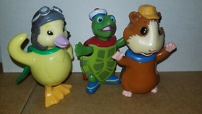 Wonder Pets 3 75 Set Of 3 Linny Ming Ming Tuck Flyboat Figures