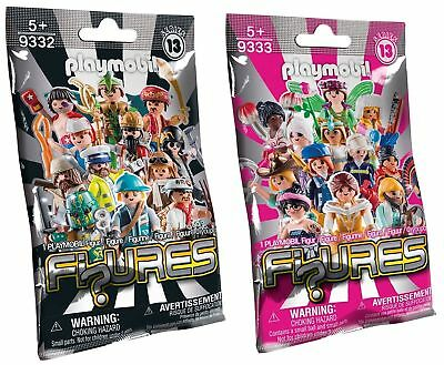 Playmobil 9333  9332 Serie 13  Mystery Figures   In Unopened Sealing Bag