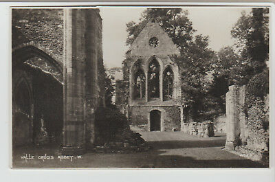 Valle Crucis Abbey West, Wales, United Kingdom, 1920s ? RPPC Postcard