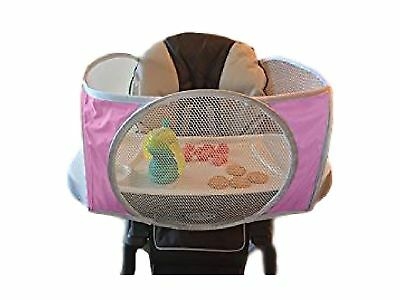 The Original Tray Buddi Keeps Food Toys and Sippy Cups From Falling on The Fl...