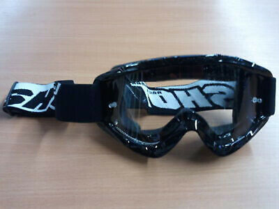 Crossbrille MX Enduro Quad ATV SHOT Brille Schwarz
