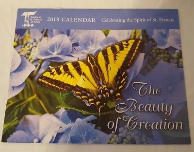 "Sisters of St Francis of Assisi 2018 ""The Beauty of Creation"" Calendar"