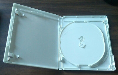 NEW White 20 Pk VIVA ELITE Hold 3 Discs Triple Blu-Ray replacement case Holder
