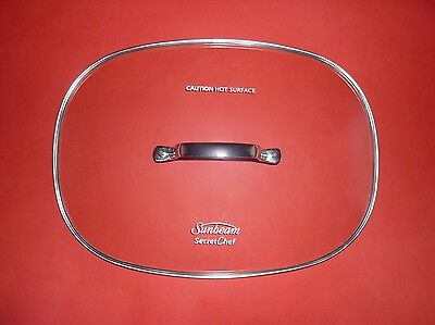 Sunbeam Secret Chef Electronic Sear and Slow Cooker 5.5L HP8555  Slow Cooker Lid