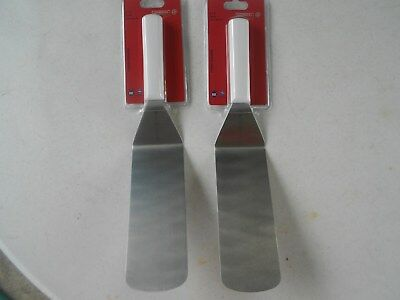 2 Mundial Turner Stainless Steel Spatula 8'' X 3''  New