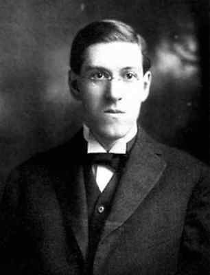 Postcard: Vintage photo repro - Young H. P. Lovecraft - Author / writer