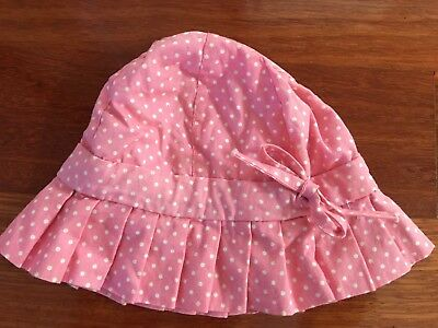 Baby Girls Pink Summer Bucket Hat