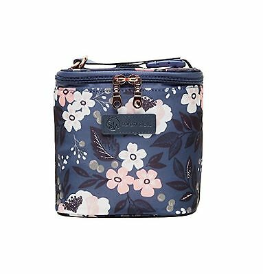 """Sarah Wells """"Cold Gold"""" Breastmilk Cooler Bag (Le Floral) With Ice Pack"""