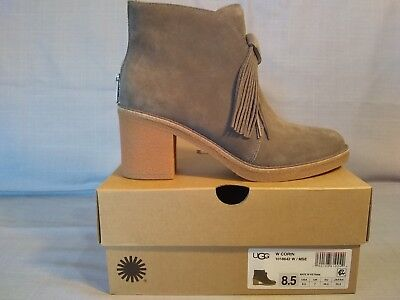 0781a9ab8e9 UGG CORIN ANKLE Bootie, 1018642 - US Women's Size 8.5 New in Box Mouse Suede
